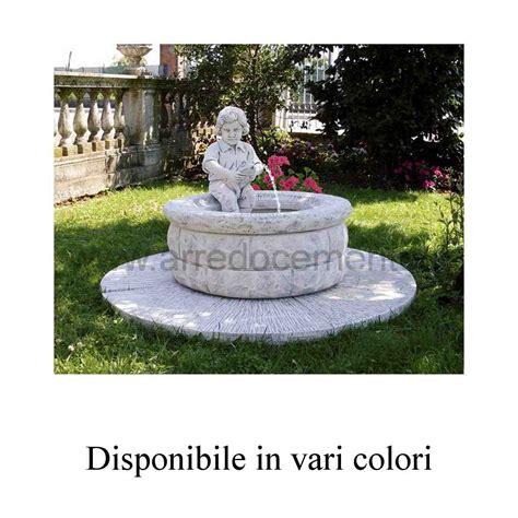 vendita fontane da giardino fontane da giardino siracusa diam cm140x85h nei vari