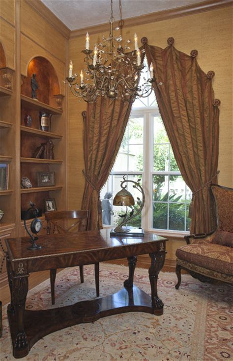 Arched Window Treatments Ideas Arched Draperies