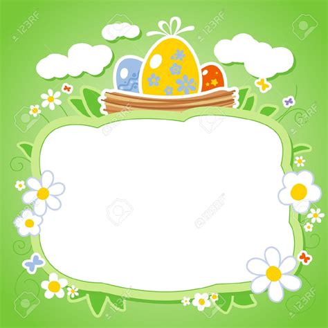 free easter templates easter borders templates happy easter 2018