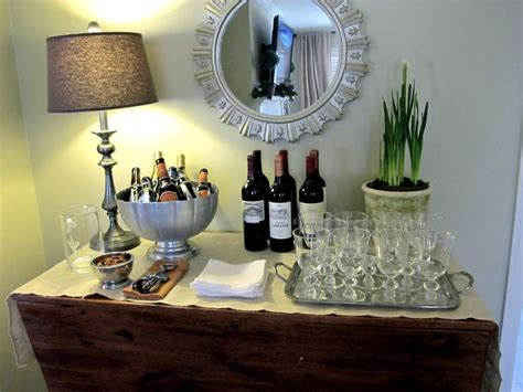 cocktail party at home how to set up a wine bar at home entertaining how to