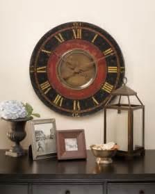 Unique Large Wall Clocks by Pin Large Decorative Wall Clocks Fashion Black Cd Film