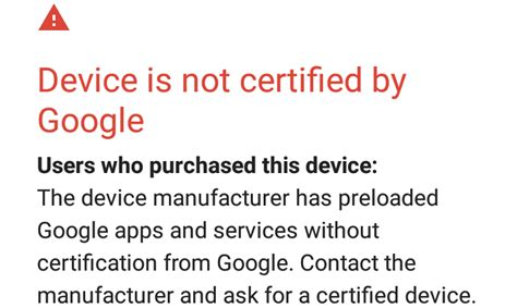 Play Store Uncertified Devices Mo Bi