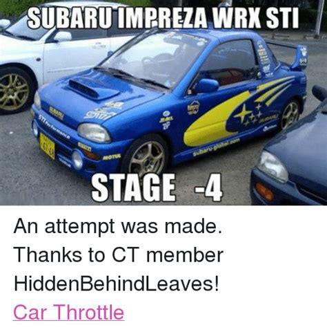 Subaru Sti Meme - 25 best memes about impreza impreza memes