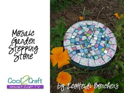 Create Mosaics Using Your Flickr Photos by How To Make A Mosaic Stepping By Ecoheidi Borchers