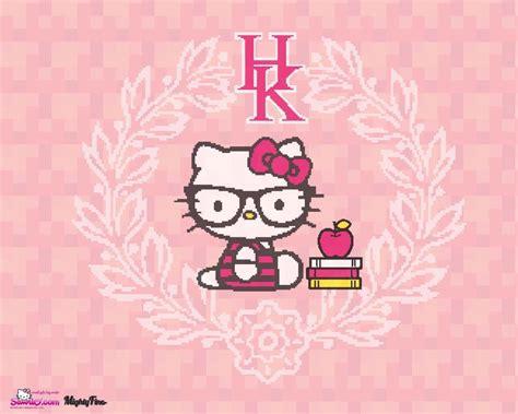 hello kitty nerd iphone wallpaper nerd backgrounds wallpaper cave