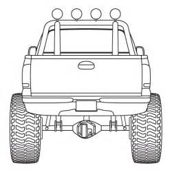 Truck Outline by 4x4 Truck Design Element By Pneal