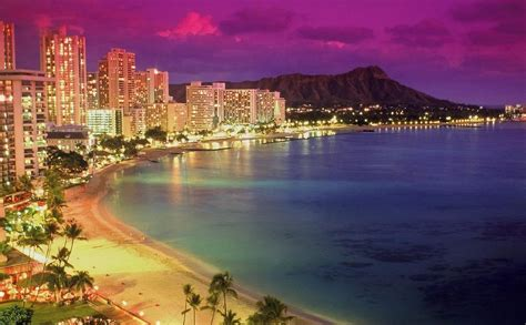 hawaii lights pin hawaii lights beaches wallpaper hawaiian nights