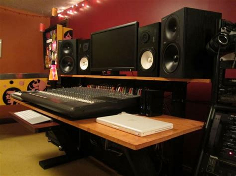diy home studio furniture  woodworking
