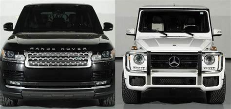 Range Rover HSE vs. Mercedes Benz G63 AMG
