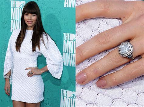 celebrity vintage engagement rings diamond jewelry