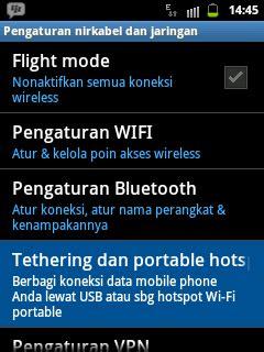 cara membuat hotspot di laptop ke hp android cara membuat hp android menjadi modem di pc dan laptop