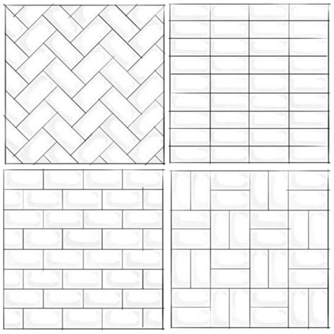 subway tile design subway tile patterns home design
