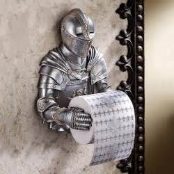 Gothic Home Decor Catalogs medieval knight toilet paper holder the green head