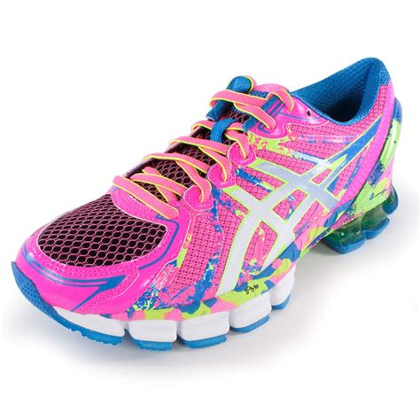 asics s gel sendai 2 running shoes pink and