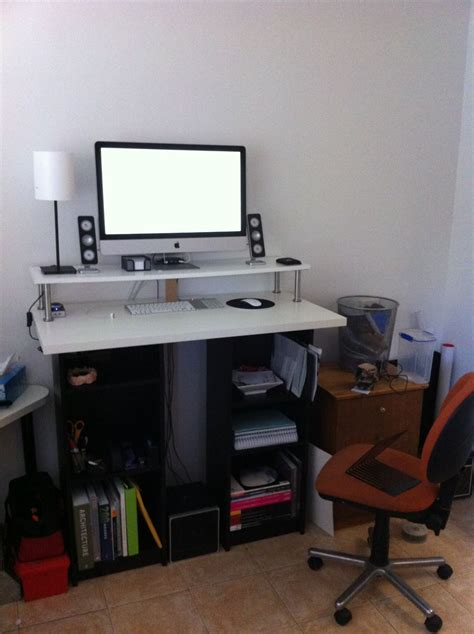 lifehacker standing desk ikea a bargain diy ikea standing desk lifehacker australia office smart ideas