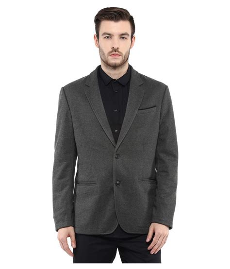 Blazer Casual Gray List mufti grey solid casual blazers available at snapdeal for rs 4999
