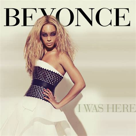 New Vanity Beyonce I Was Here Single Cover Unofficial Single