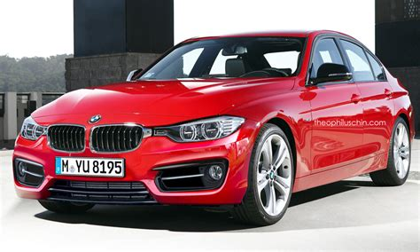 2016 BMW 3 Series facelift   Rendering