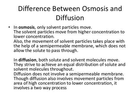 osmosis vs diffusion venn diagram osmosis n diffusion