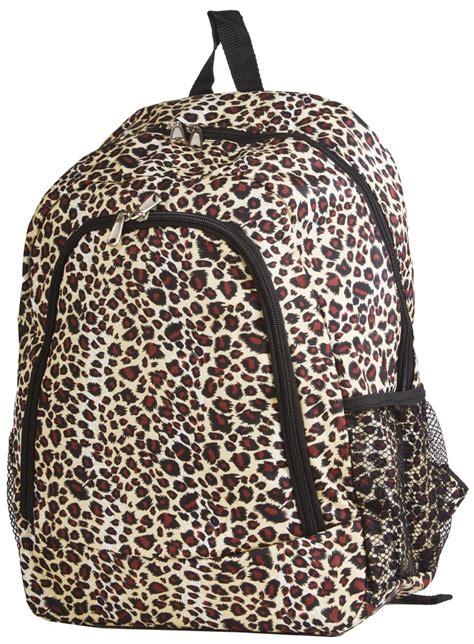 Leopard Print Backpack cheetah print backpacks school
