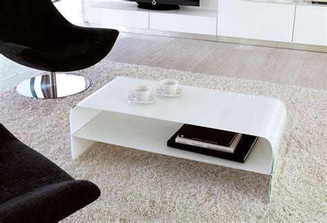unico modern thema glass coffee table with shelf in choice