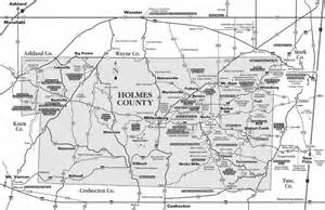 Holmes County Ohio Map by Heading South In Holmes County