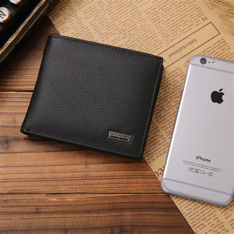Dompet Pendek Pria 100 Kulit Aslilenturimport jinbaolai dompet kulit solid black jakartanotebook