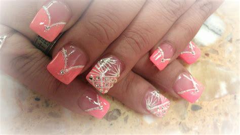 acrylic nail tips how to color v tips v tips acrylic nails