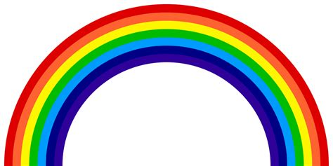 how many colors in a rainbow roygbiv