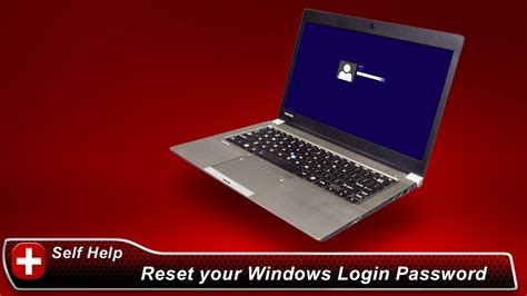 toshiba how to reset your windows login password