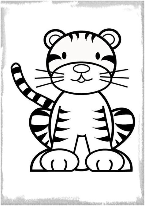 imagenes para pintar tigre colorear archivos imagenes de tigres