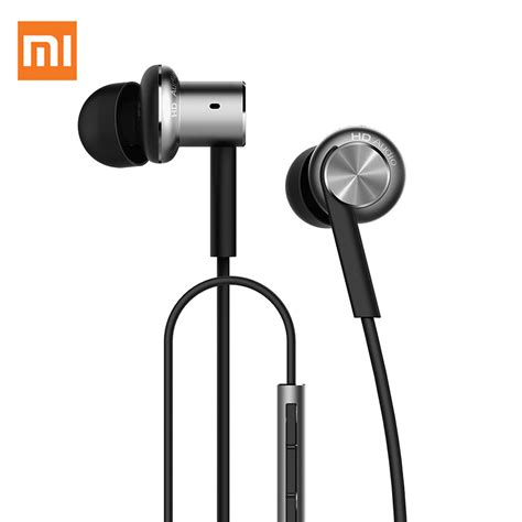 Xiaomi Mi Iv Hybrid Dual Drivers Earphones Headset In Ear Mi Piston 100 original xiaomi mi hybrid dual drivers earphone in