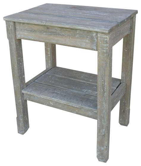 Farmhouse Bedside Table by Cottage Plank Side Table Riverwash Farmhouse