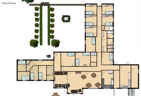 Small Nursing Home Floor Plans 17 Best Images About Nursing Home On Nursing
