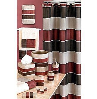 burgundy bathroom decor pb home modern line burgundy bath collection bon ton