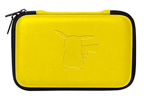 New 3ds Xl Hori Pikachu Pouch details and images for the nintendo 3ds pikachu pouch from hori idealist