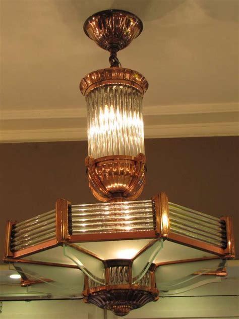 lustre cuivre lustre de petitot 233 poque d 233 co
