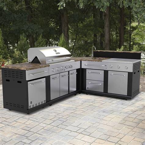 shop master forge corner modular outdoor kitchen set at