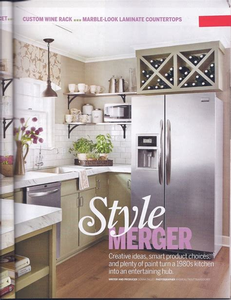 Kitchen Makeover Ideas For Small Kitchen wine rack over fridge above fridge pinterest wine