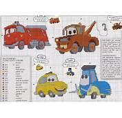 Arteira Ponto Cruz Cars/ Pooh/Urso/ Rei Le&227o