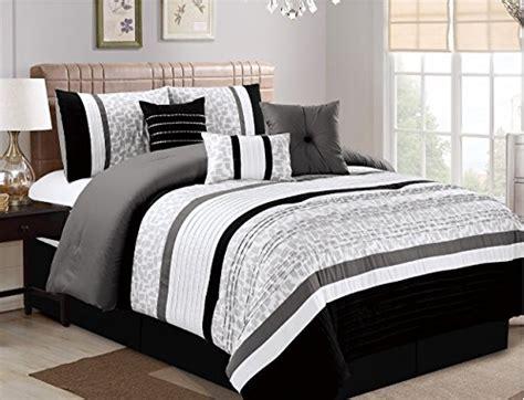 Bedding Oversize Luxurious Microfiber by Jbff 7 Oversize Luxury Stripe Bed In Bag Microfiber