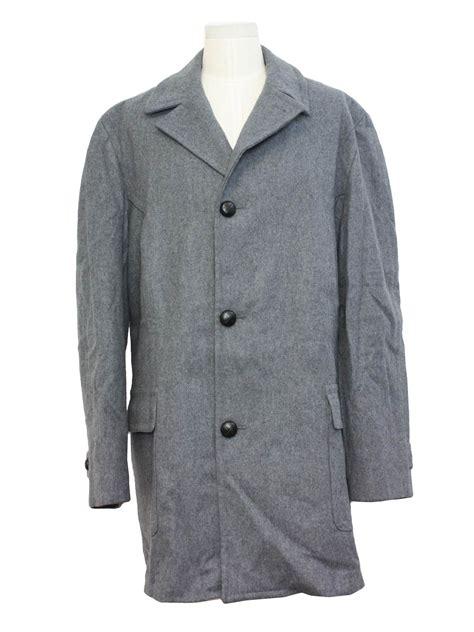 pendleton coat 60 s pendleton jacket 60s pendleton mens beautiful grey longsleeve mid length