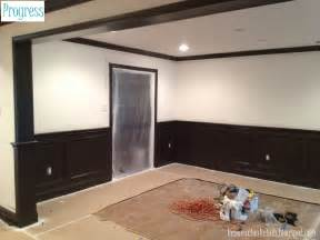 wainscoting paint color ideas renovation rehab let the painting commence