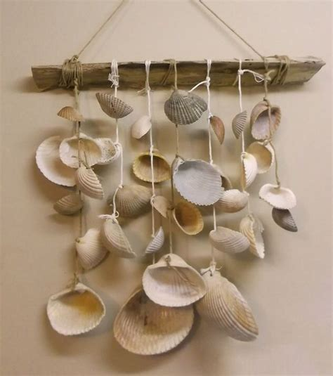 crafts with seashells for seashell wind chime u 2 do it yourself