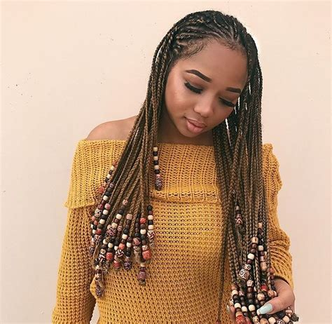 bead hair styles best 25 braids and ideas on