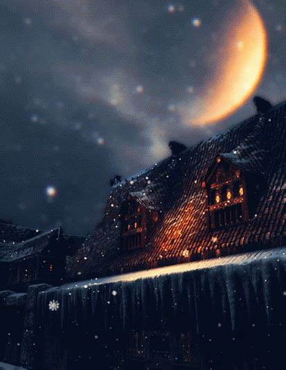 Sweet Rains Second Nature snow winter house nfroderk wonderful