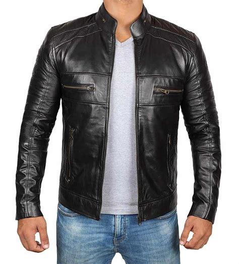 model jaket kulit pria terbaru  casual formal klasik