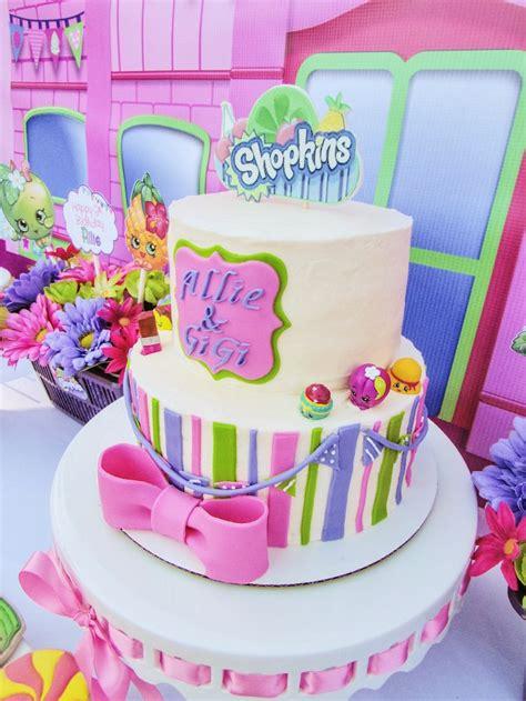Shopkins Cake Topper Shoppin kara s ideas colorful shopkins birthday kara