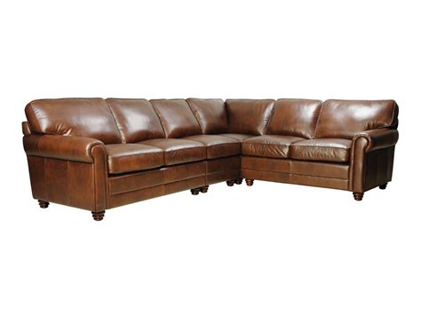 andrew sectional sofa andrew leather sectional sofa by luke leather leather