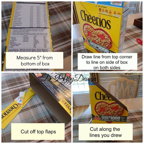 card holder cereal box diy by design from cereal box to diy magazine holder